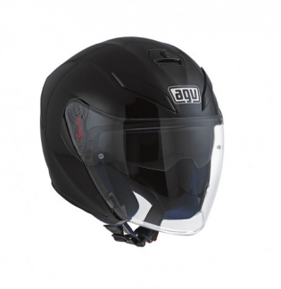 AGV K-5 JET E2205 SOLID MATT BLACK