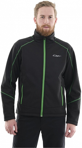 DRAGONFLY Explorer Softshell Black-Green